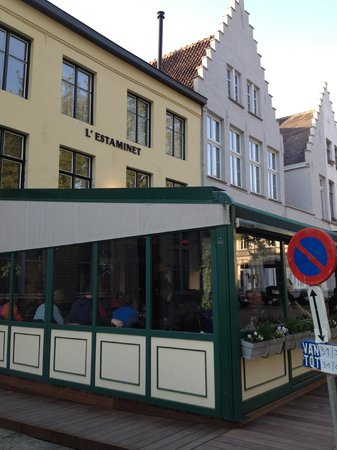 """L'Estaminet : The """"semi-outdoor"""" seating was comfortable"""