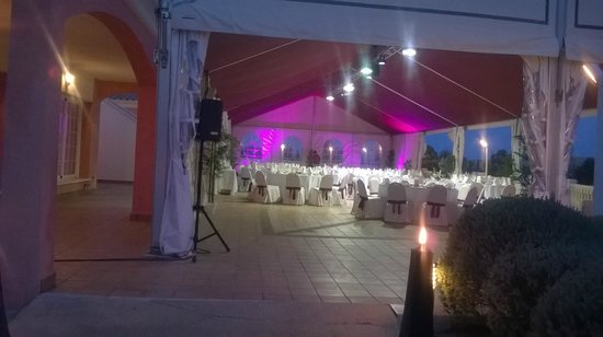 Hotel Bonalba Alicante : Terraza para eventos