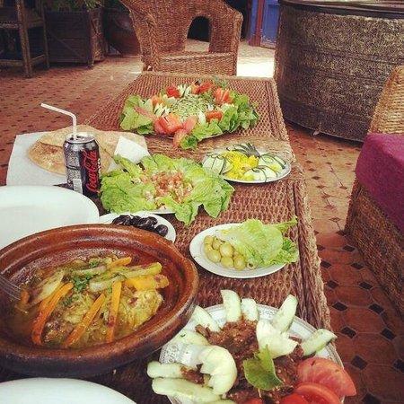 Hotel Bin el Ouidane : Déjeuner