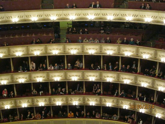 Staatsoper: Перед началом спектакля