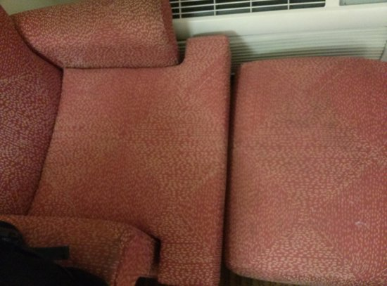 Extended Stay America - Mobile - Spring Hill: dirty chair I didn't sit on