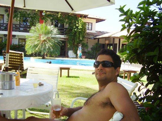Porto Zarpa Hotel: Na piscina!