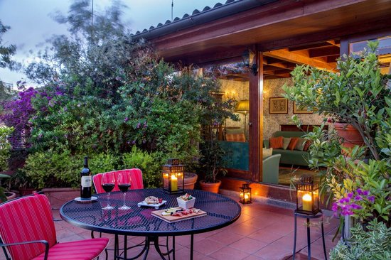 The Inn At The Spanish Steps: Rooftop terrace
