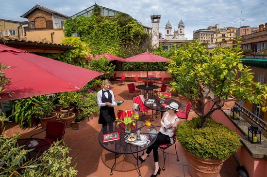 The Inn At The Spanish Steps- Small Luxury Hotel: Rooftop terrace