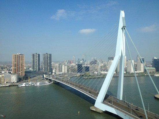 nhow Rotterdam: Uitzicht noordzijde