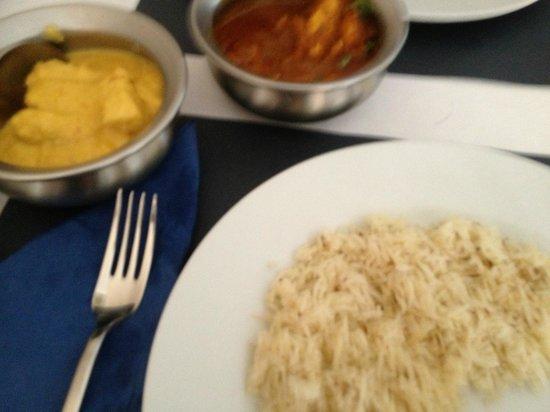 Krishná Indian Restaurant: Main course