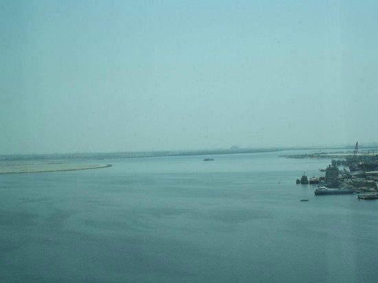 Crowne Plaza Dubai Festival City: view from the room