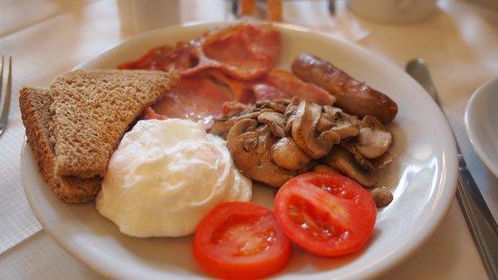 Halcyon Hotel: Full Breakfast