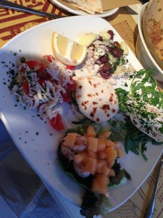 Kalamaro Fritto D'Osteria: piatto freddo