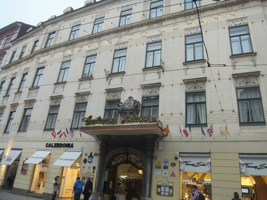 Palais Hotel Erzherzog Johann : hotel