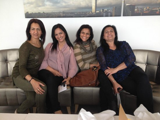 Hilton Manchester Deansgate : The four of us