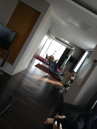 Hilton Manchester Deansgate : presidential suite