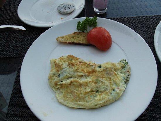Zaytoun: fresh cooked eggs