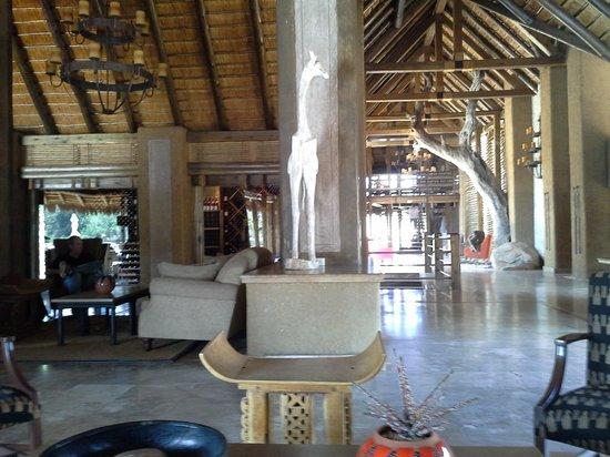 Kapama River Lodge : lobby