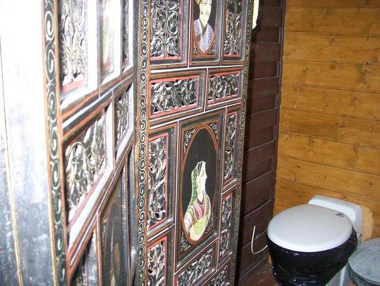 Paravent pour le coin salle de bain photo de l 39 ermitage for Paravent salle de bain