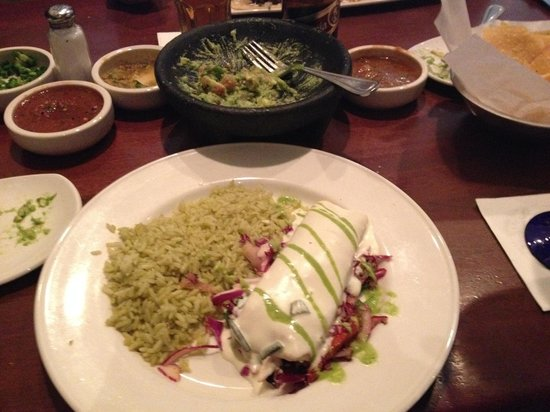 Cantina Laredo: Enchiladas and Table Side Guacamole
