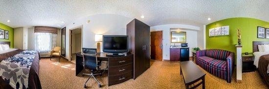 Sleep Inn at Bush River Road : Guest Room