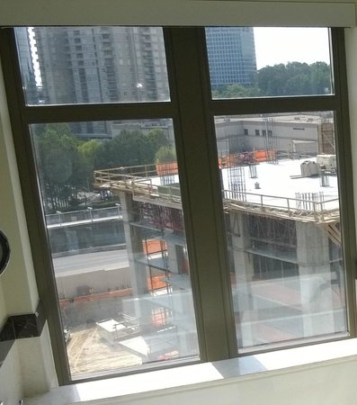 Mandarin Oriental, Atlanta: This was our view...construction site
