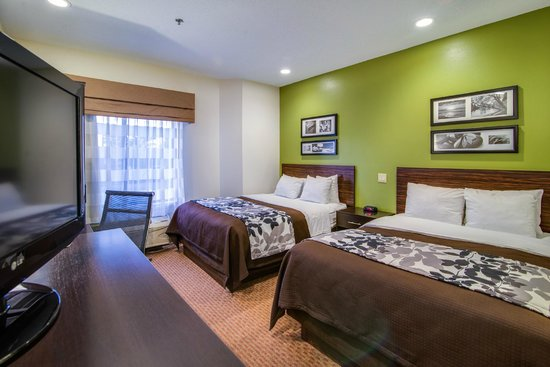 Sleep Inn at Bush River Road: Two Queen Beds