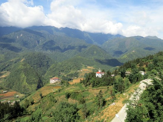 Sapa Eden Hotel: View from room