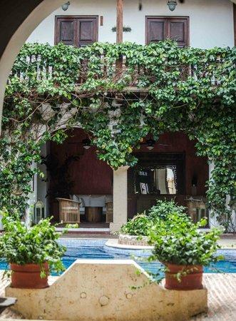 Hotel Casa del Arzobispado: Pasillo segundo piso