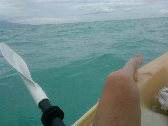 Fare Aute : sur le lagon