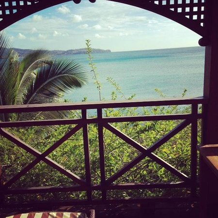 Calabash Cove Resort and Spa: View from our personal cottage