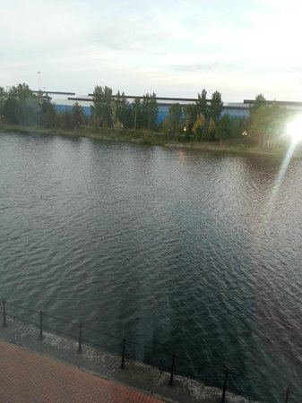 Holiday Inn Express Cardiff Bay: View from room.