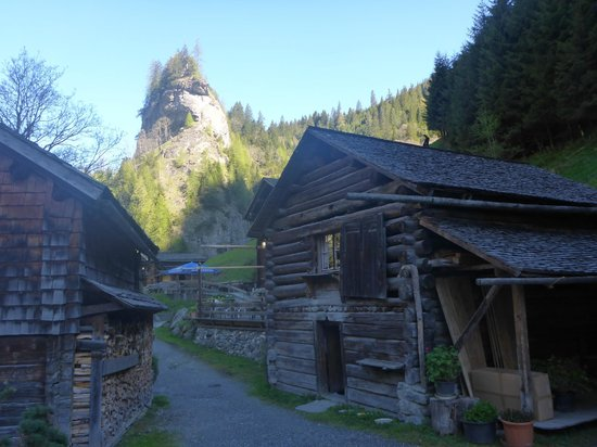 St.Martin im Calfeisental: Hütten