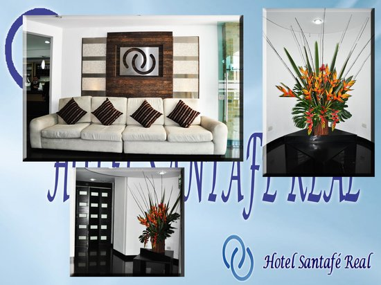 Hotel Santafe Real: Recepcion