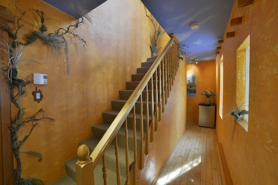 Au Saut Du Lit : Corridor pour accéder aux chambres