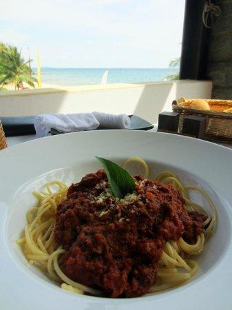 Chen Sea Resort & Spa Phu Quoc: Spaghetti Bolognese