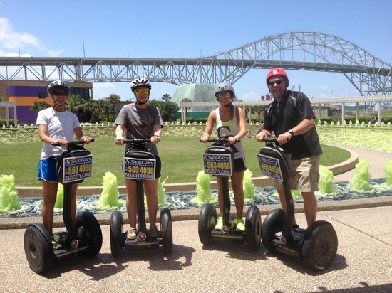 SegCity Guided Segway Tours: Green water garden for Beach to Bay
