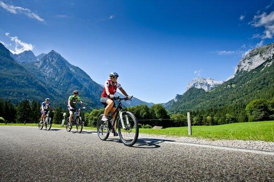 Pension Berganemone: Radtour in den Berchtesgadener Bergen