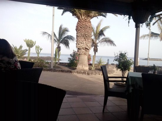 Peskera : looking out from the restaurant