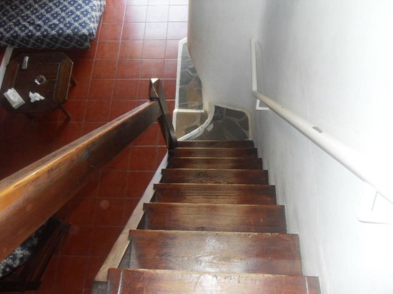 Vilanova Resort: Steep Stairs