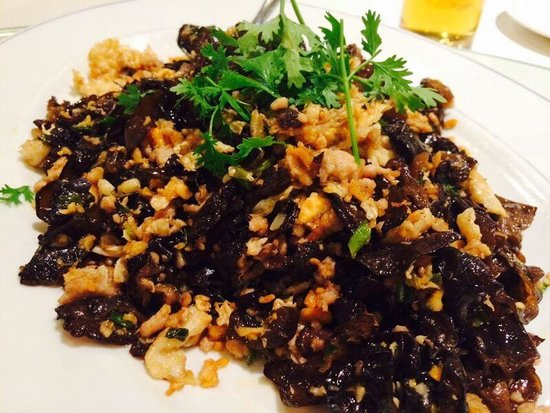 Jia Tong Heng Restaurant : Fried eggs with black fungus