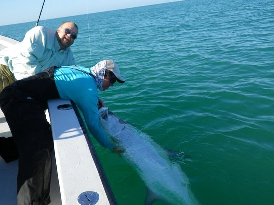 Monster tarpon picture of grande adventures fishing for Lake tarpon fishing
