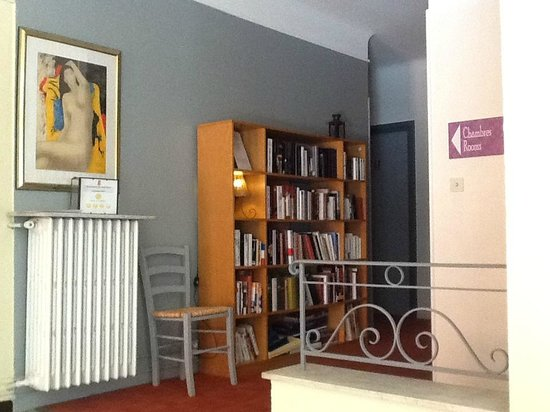 le Chantilly : Bibliothèque