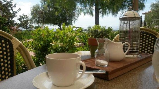 Ponte Vineyard Inn : Last breakfast before heading home