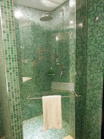 Hotel Saratoga: Lovely shower room