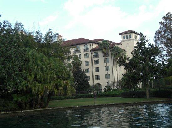Hard Rock Hotel at Universal Orlando: Vista desde el Water Taxi