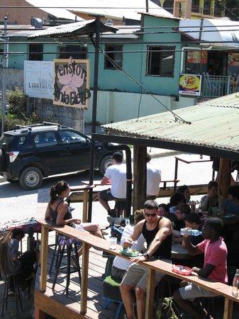 Pension Santa Elena : outside area