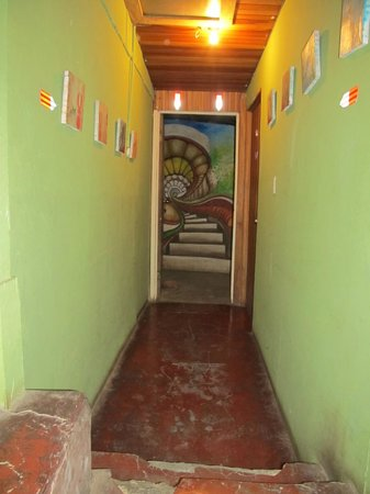 Pension Santa Elena: hallway