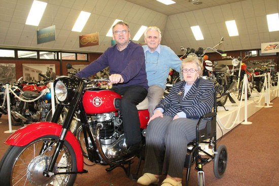 National Motorcycle Museum: Me with Mum & Dad