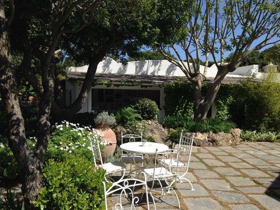 Garden & Villas Resort: Bar piscina