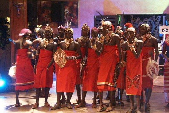 Leopard Beach Resort & Spa : Masai entertainment
