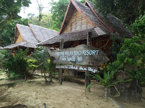 Phi Phi Relax Beach Resort: Bienvenue