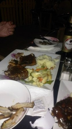 Drunken ribs. As good as the reviews say! - Photo de The Palms ...