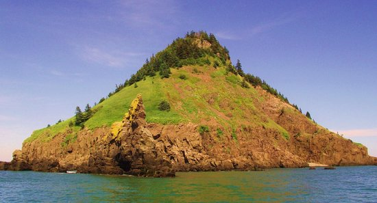 Advocate Boat Tours: Isle Haute in the Bay of Fundy